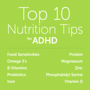 Top 10 Nutrition Tips for ADHD