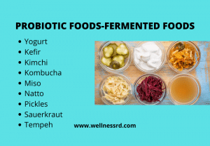 Fermented Foods-Probiotic foods